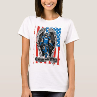 St. Michael Police Officers Defend Us in Battle T-Shirt