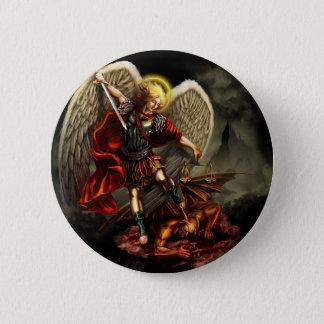 St. Michael the Archangel 2 Inch Round Button