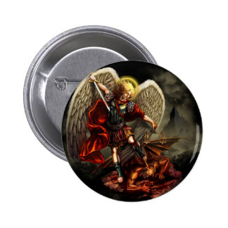 St. Michael the Archangel 2 Inch Round Button
