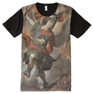 St Michael the Archangel All-Over-Print T-Shirt