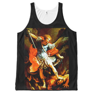 St Michael the Archangel All-Over-Print Tank Top