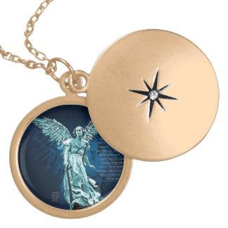 St MICHAEL THE ARCHANGEL Locket Necklace