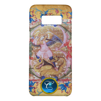 St. Michael the Archangel Monogram Antique Floral Case-Mate Samsung Galaxy S8 Case
