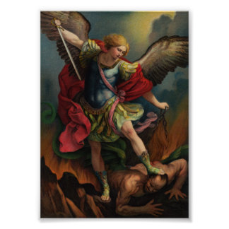 St. Michael the Archangel Small Poster
