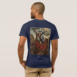 St. Michael Thin Blue Line T-Shirt