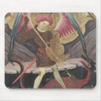 St Michael Vanquishing Evil, c.1480 (tempera on pa Mouse Pad