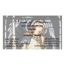 St Michael (verre souillé) par Burne Jones Carte De Visite Standard