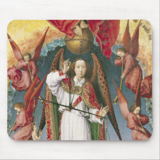 St. Michael Weighing the Souls Mouse Pad