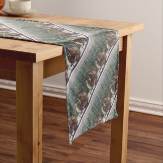 St Michael's Cave Short Table Runner