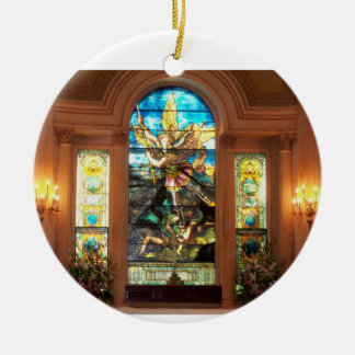 St. Michael's Ceramic Ornament