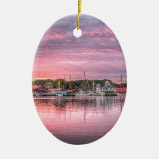 St. Michaels Harbor Ceramic Ornament