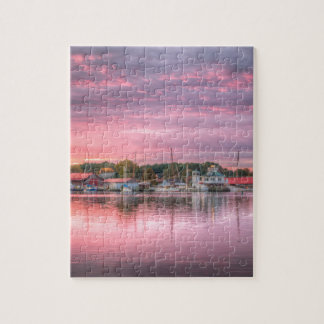 St. Michaels Harbor Jigsaw Puzzle