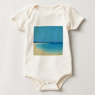 St Michaels Mount 2. Baby Bodysuit
