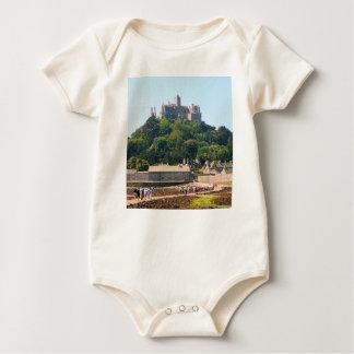 St Michael's Mount Castle, England 2 Baby Bodysuit