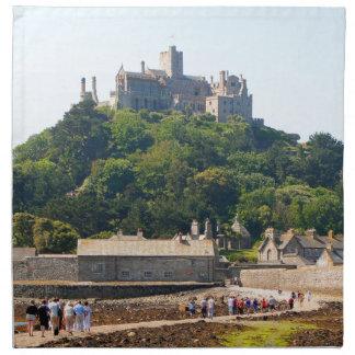 St Michael's Mount Castle, England 2 Napkin
