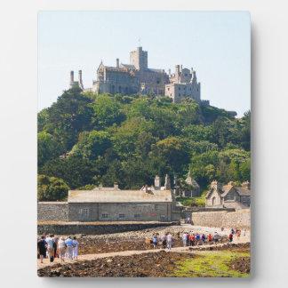 St Michael's Mount Castle, England 2 Plaque