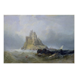 St. Michael's Mount, Cornwall Poster