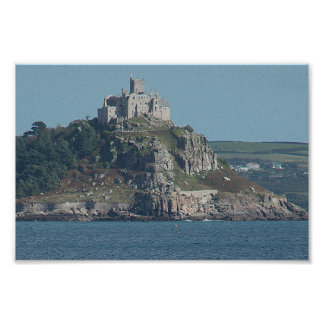 St Michael's Mount, Cornwall Poster