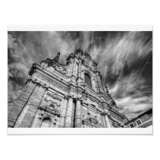 st-michaels's church exterior leuven photo print