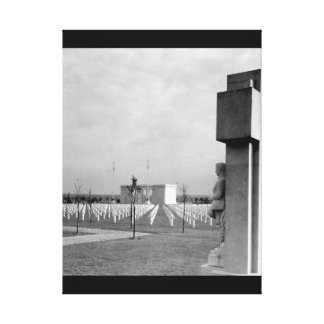 St. Mihiel American Cemetery, near_War Image Canvas Print