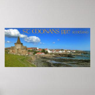 St Monans, Fife, Scotland Poster
