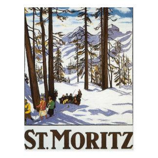 St.Moritz Postcard