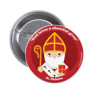 St. Nicholas Button
