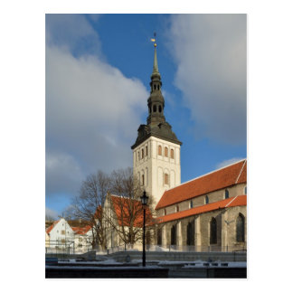St. Nicholas' Church, Tallinn, Estonia Postcard