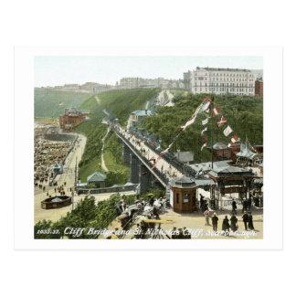 St. Nicholas Cliff, Scarborough, England Vintage Postcard