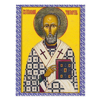 St. Nicholas icon Postcard