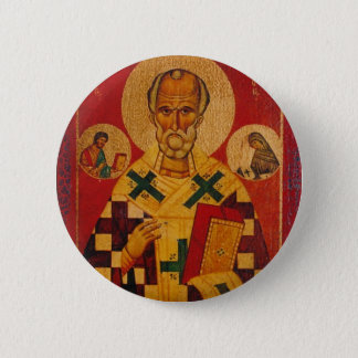 St. Nicholas of Myra 2 Inch Round Button