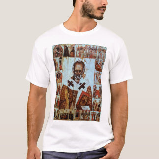 St Nicholas with Scenes from his Life T-Shirt