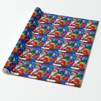 St Nick Wrapping Paper