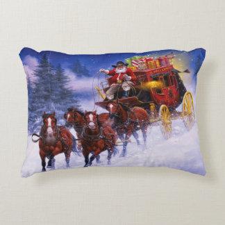 St. Nicks Express Accent Pillow