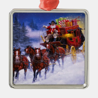 St. Nicks Express Metal Ornament