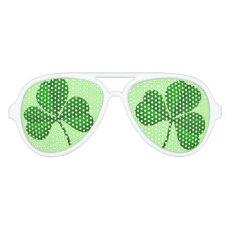 St Paddys Day Parade Shade Aviator Sunglasses