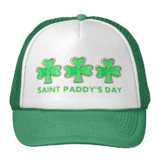 St. Paddy's Patrick's Day Shamrock Cookie Hat