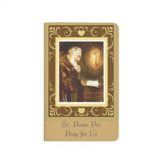 St. Padre Pio at the Altar Journal