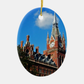 St. Pancras Ceramic Ornament