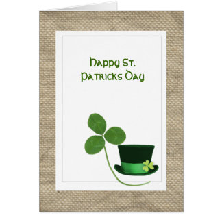 St. Paticks Day greeting card