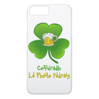 ST PATRIC+S DAY SHAMROCK +  BEER IPHONE 7 iPhone 8 PLUS/7 PLUS CASE