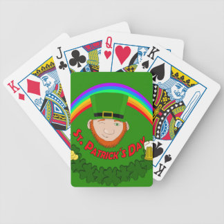 St. Patrick Bicycle Playing Cards