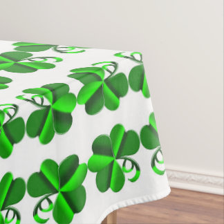 St Patrick Day. Clover pattern Tablecloth