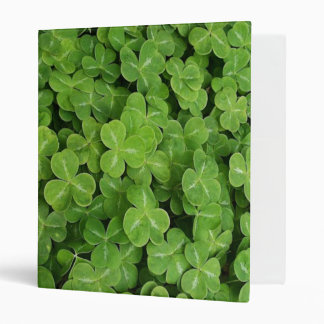 St. Patrick Day - Shamrocks Vinyl Binders