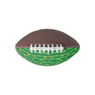St Patrick Golden shamrock green stripes pattern Football