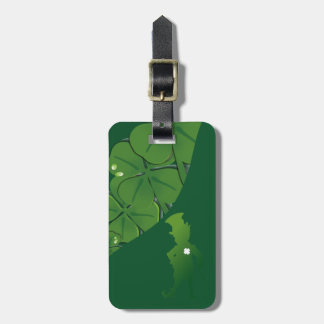 St.Patrick Ireland Shamrock Luggage Tag