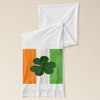 St. Patrick Irish Flag Shamrock Clover Ireland Scarf