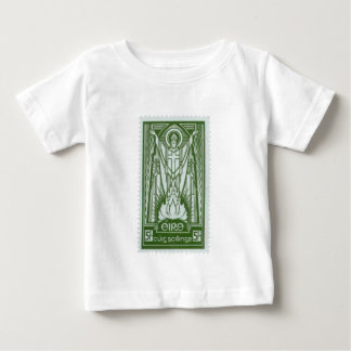 St. Patrick Irish Postage Stamp Baby T-Shirt