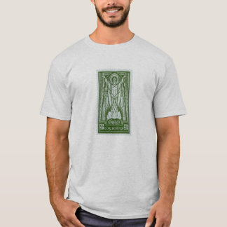 St. Patrick Irish Postage Stamp T-Shirt