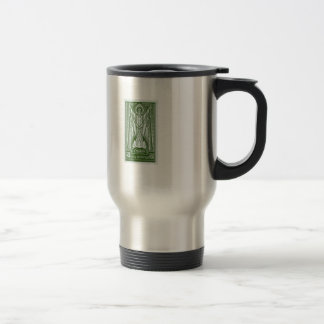St. Patrick Irish Postage Stamp Travel Mug
